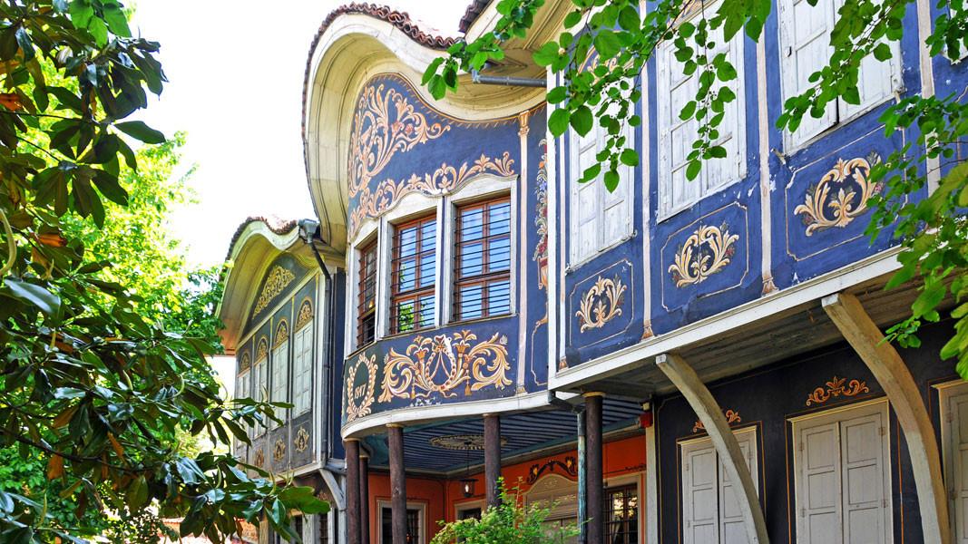 Das Kujumdschiew-Haus, das heute das Regionale ethnografische Musuem Plowdiw beherbergt