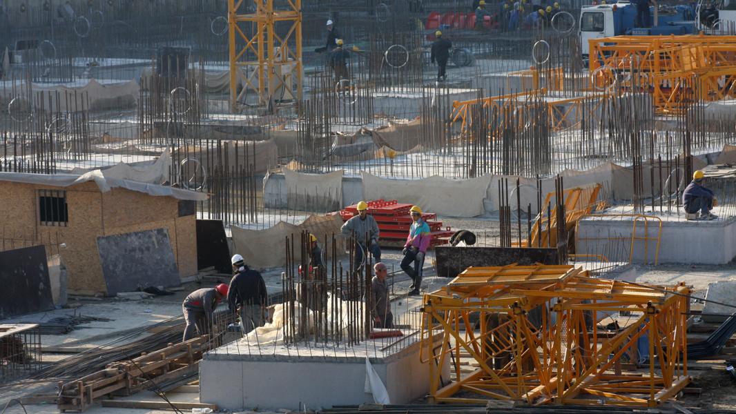Продукцията в строителния сектор на Европейски съюз и в частност