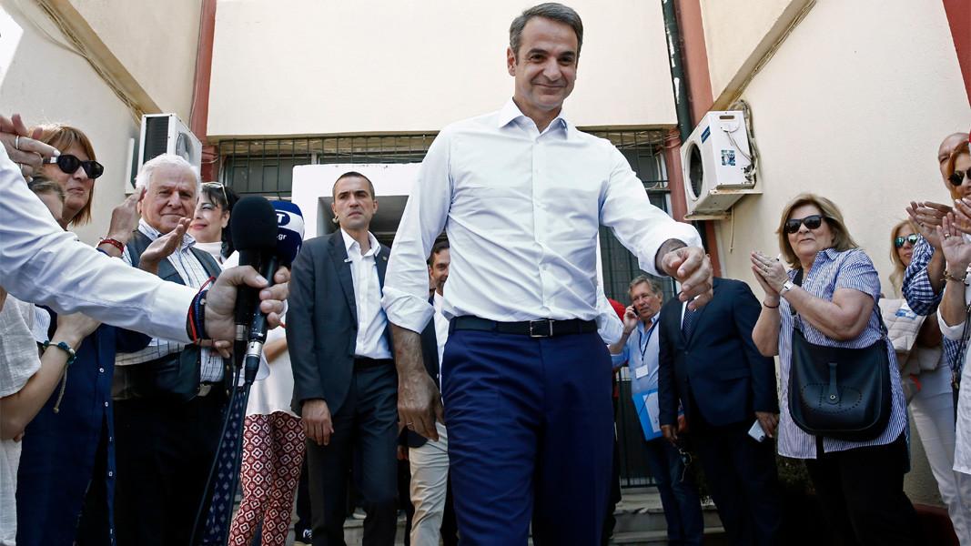 Yeni Demokrasi Partisi Başkanı Kiriakos Mitsotakis Foto: BGNES