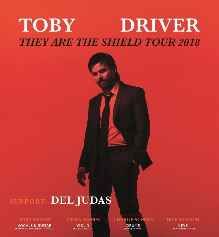 Плакат за европейското турне на Тоби Драйвър