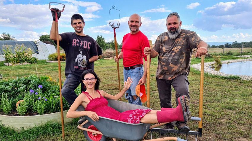 Фермерският екип