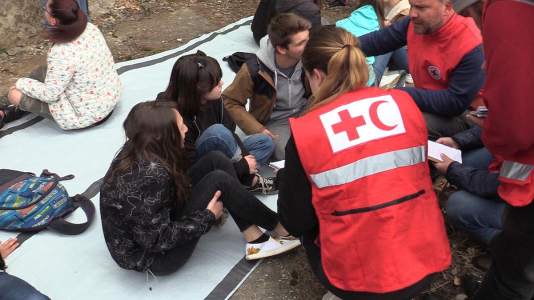 Планирано учение за действия при земетресение  Снимка: БГНЕС