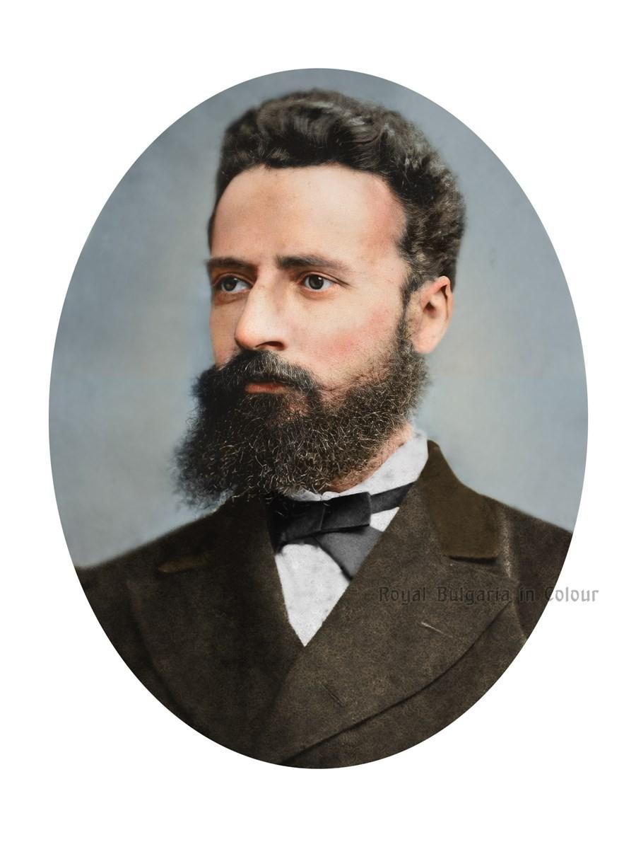 Христо Ботев – оцветена фотография, направена вероятно в Букурещ, около 1870 г./https://royalbulgariaincolour.com/