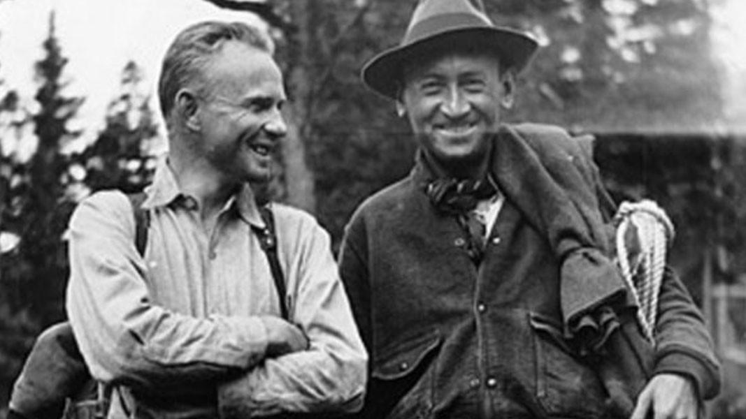 Фриц Цвики и Уолтър Бааде