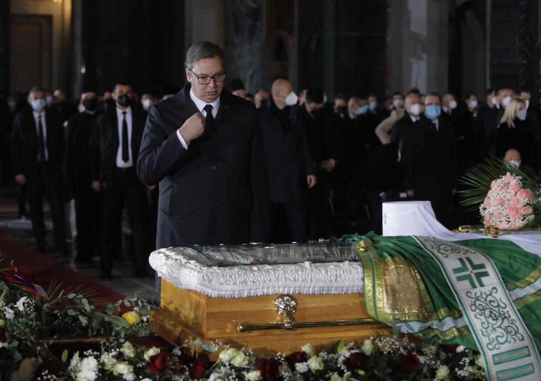 Сръбският президент Александър Вучич