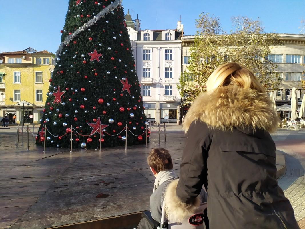 Преди Коледа в Пловдив