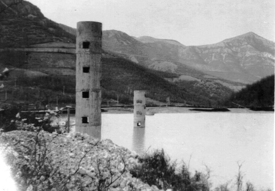 Хвостохранилището през 60-те години