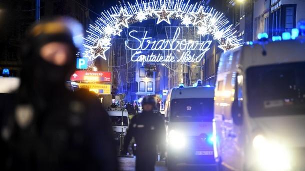 Снимка: Френските специални части ликвидираха нападателя от Страсбург