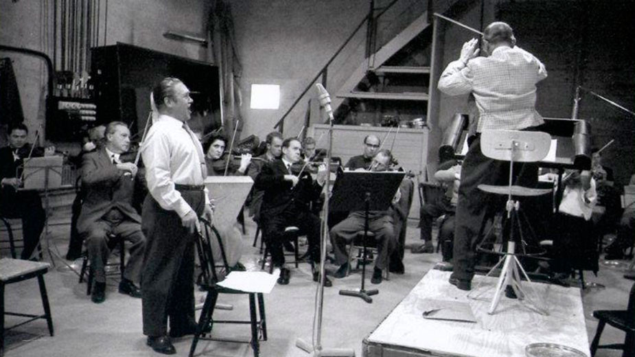 Юси Бьорлинг в студио