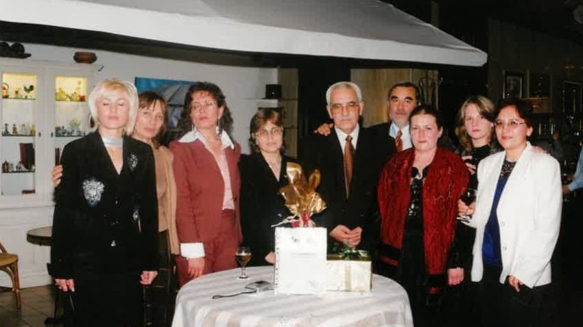 """The team of """"Turkish Language Programs"""" celebrates 10 years since restart of broadcasts for Bulgaria."""