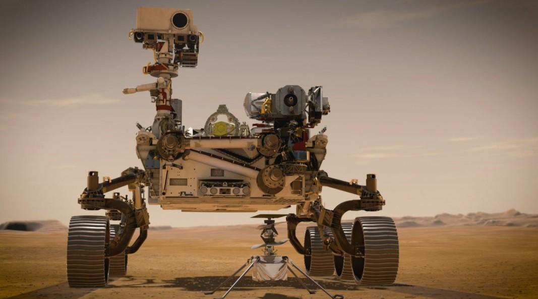 Марсоход Пърсивиърънс