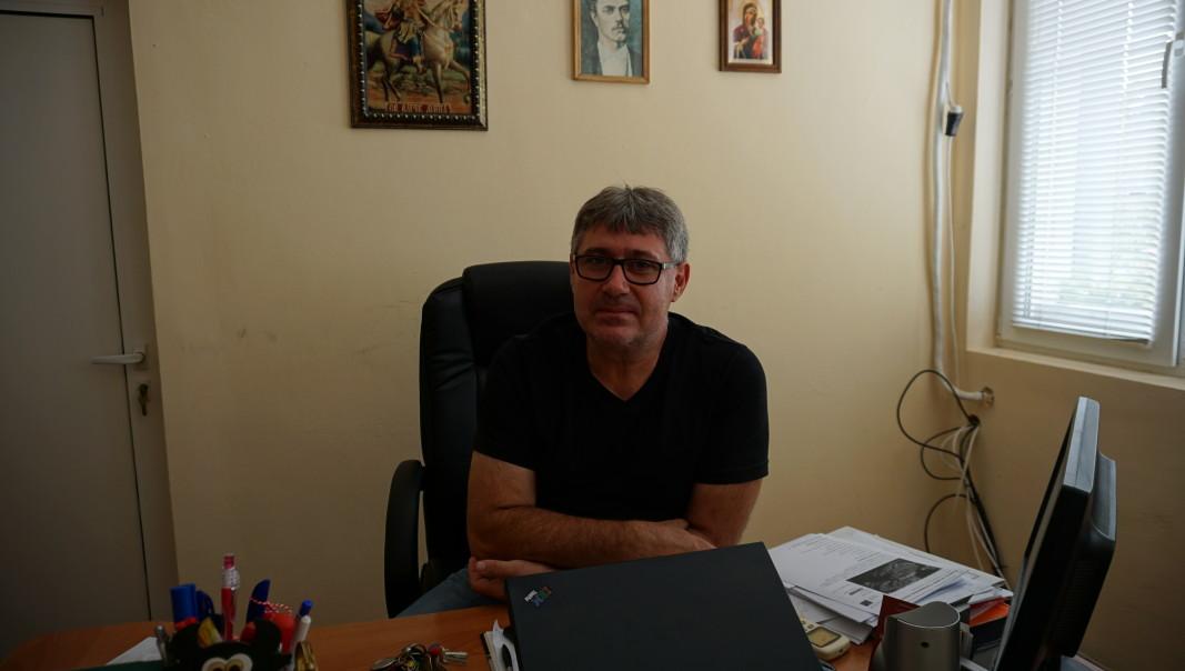 Кметът на Комощица Росен Илиев. Снимка: Радио Видин