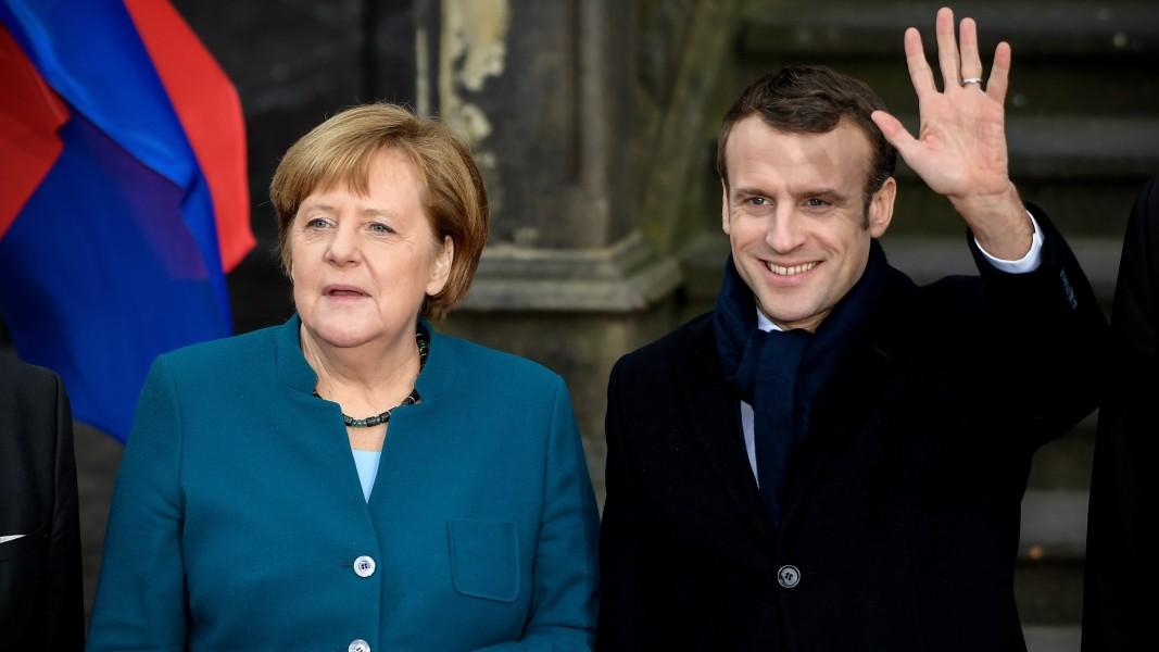 Макрон и Меркел подписаха в Аахен новия договор за приятелство между двете страни