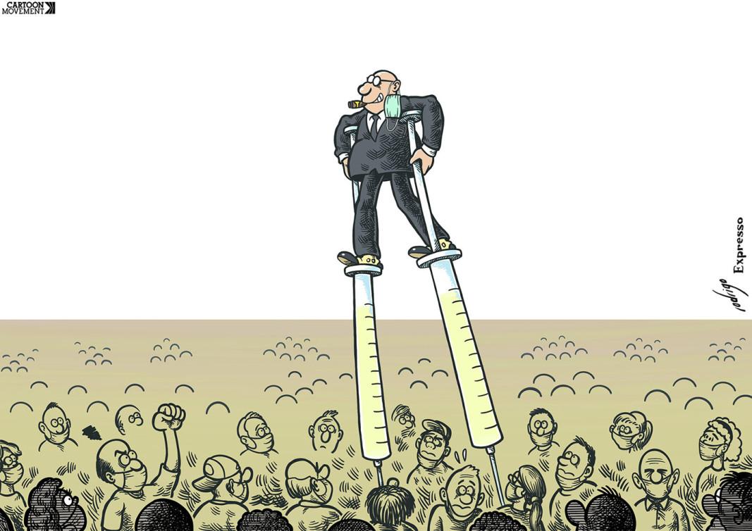 Автор: Rodrigo de Matos / cartoonmovement.com