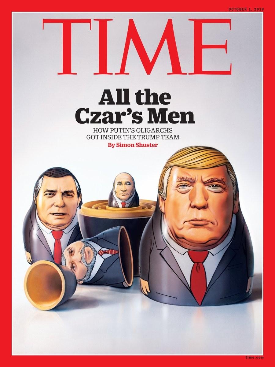 Американското списание Time публикува корицата на броя, който ще излезе