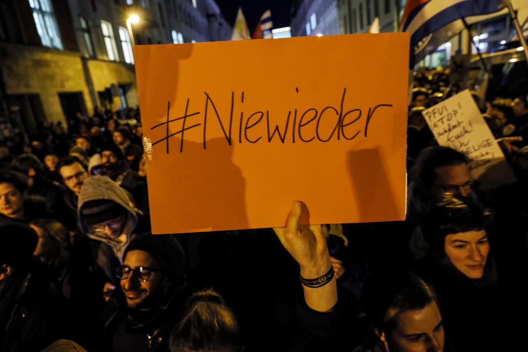 Протест срещу избора на Кемерих