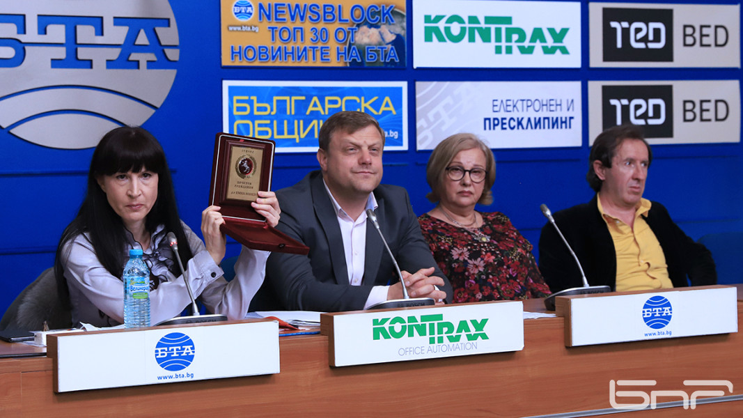 Татяна Илиева, Асен Велинов, Екатерина Карагяурова, Борис Янев