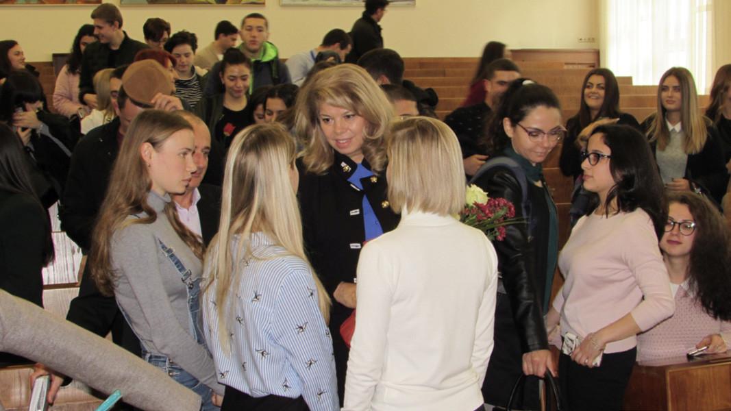 Встреча в Варне со студентами из болгарских исторических диаспор