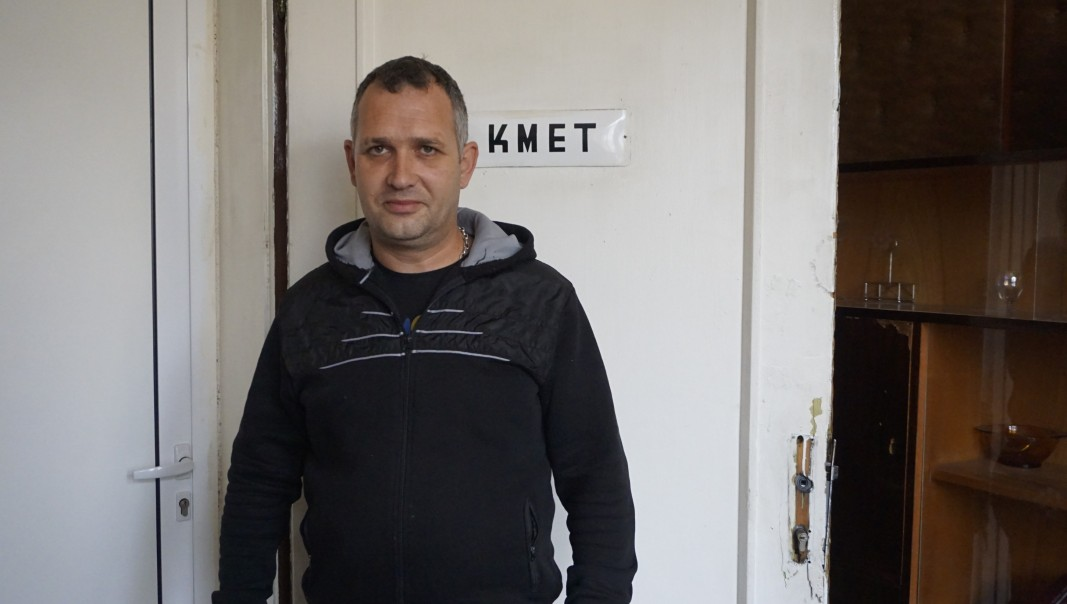 Кметът Стефан Ангелов