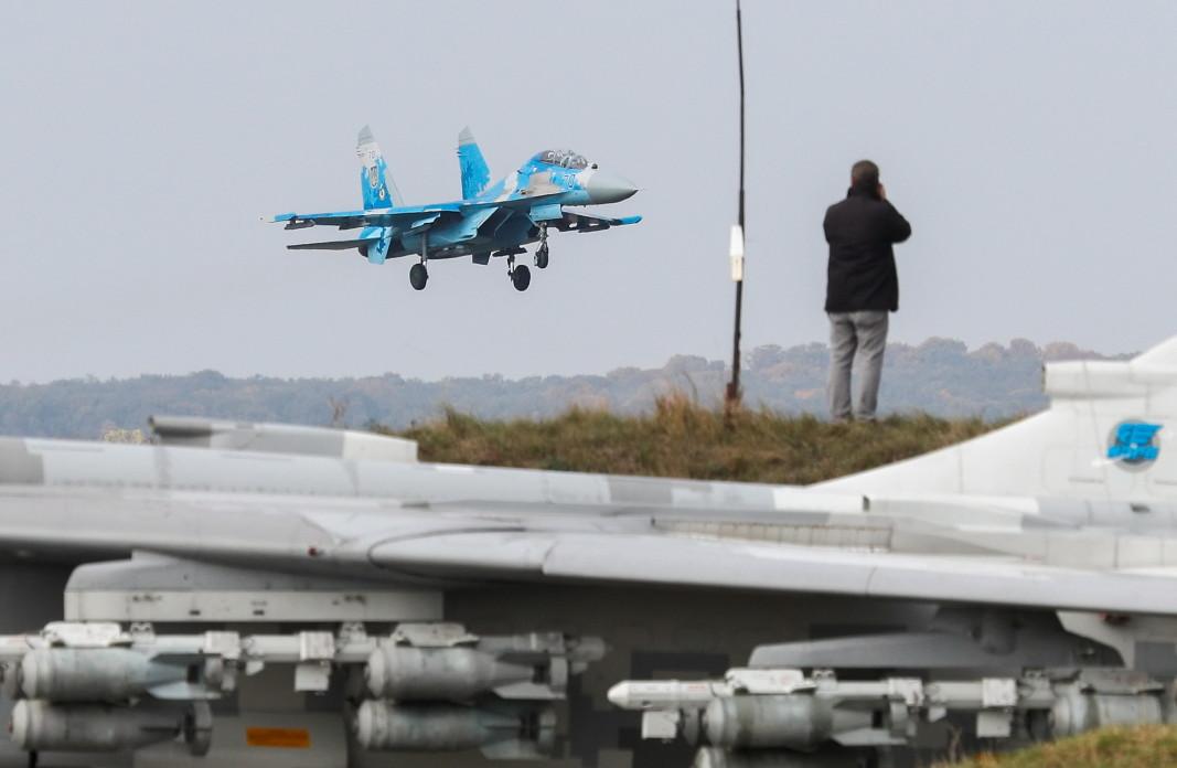 Американски пилот е загинал, след като украински Су-27 се разби