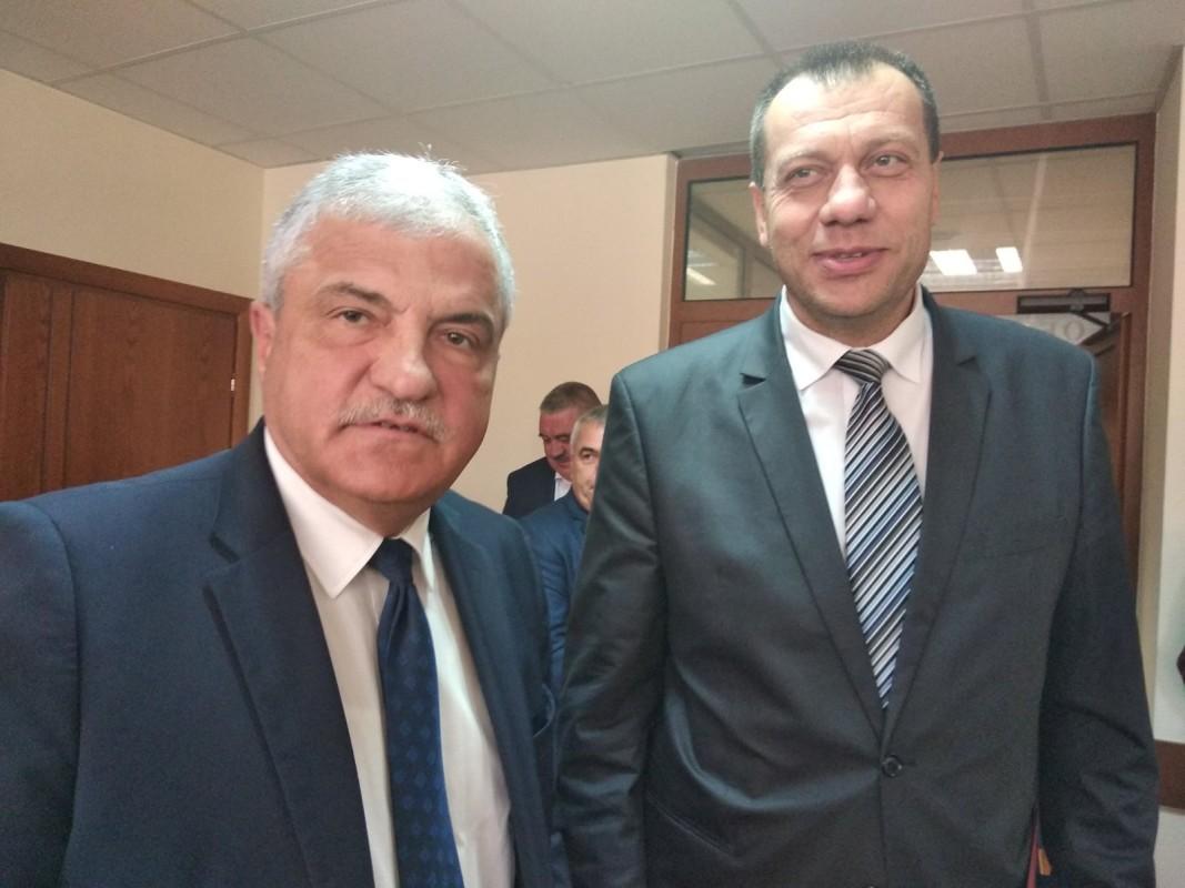 Владимир Москов и Бисер Михайлов