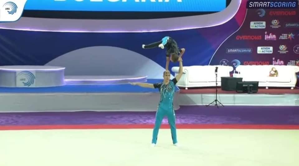 Мартин Николов и Данаил Николов с треньор Йорданка Кочева