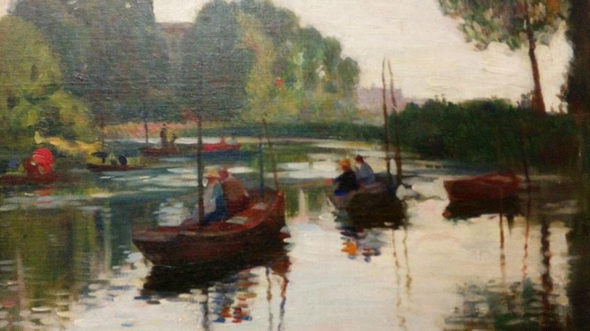 Τσένο Τόντοροφ, «Ο ποταμός Μάρνα πλάι στο Παρίσι»