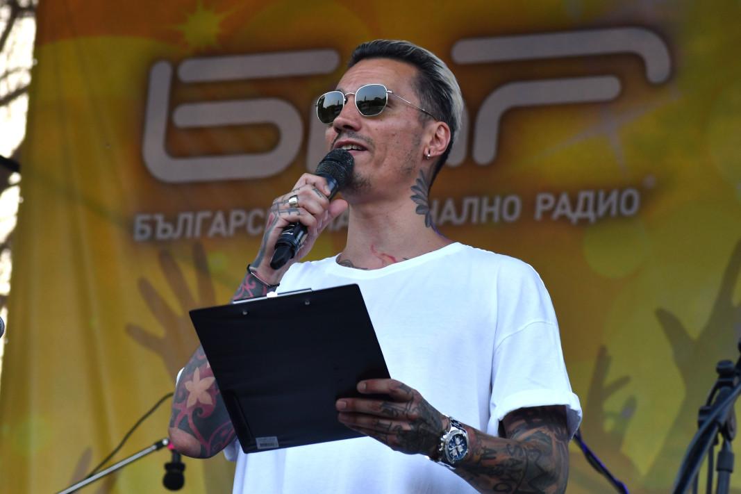 Мартен Роберто - водещ на галаконцерта