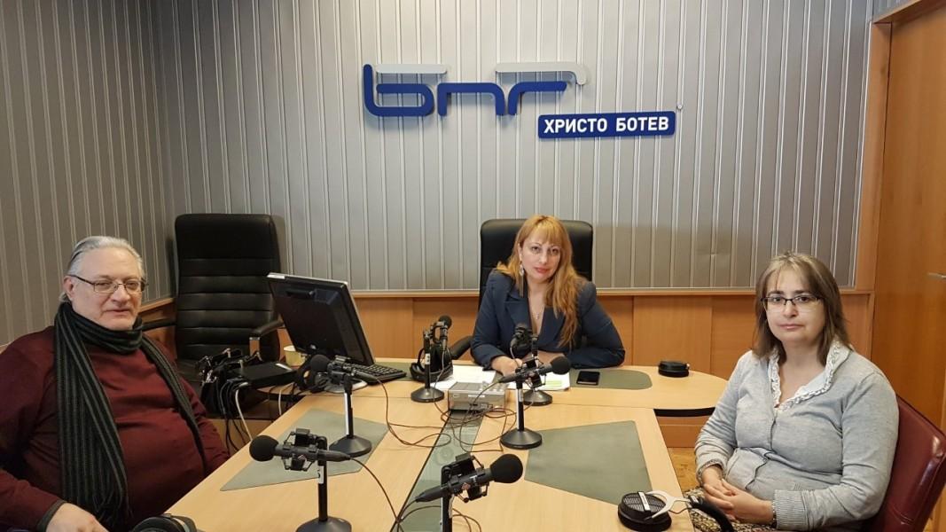 Панайот Рандев, Мария Мира Христова и проф. Сийка Чавдарова (от ляво надясно)