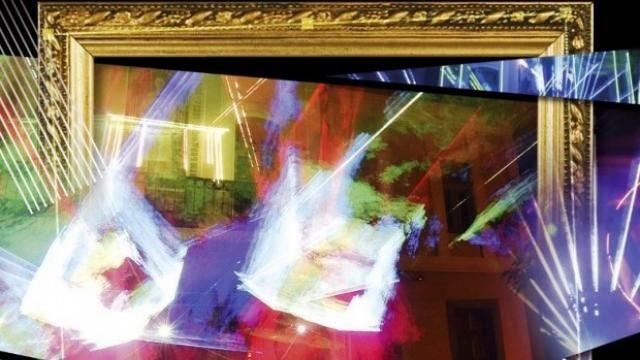 Въздействаща художествено-музикална 3D проекция с лазерни ефекти представя пред публика