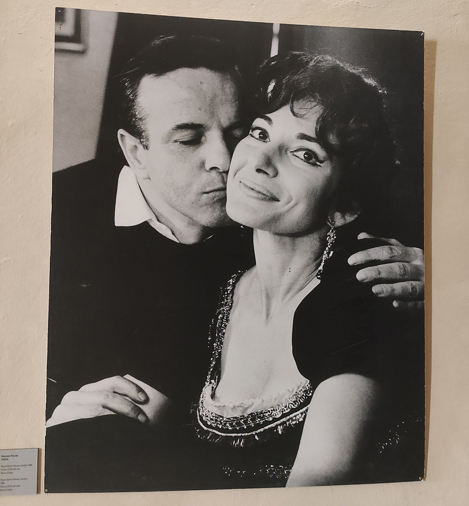 Франко Дзефирели и Мария Калас