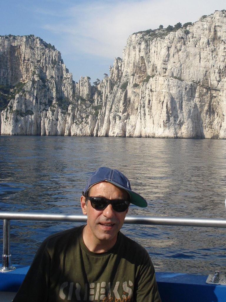 Робин Кафалиев в Касис, Франция. Снимка: архив Робин Кафалиев