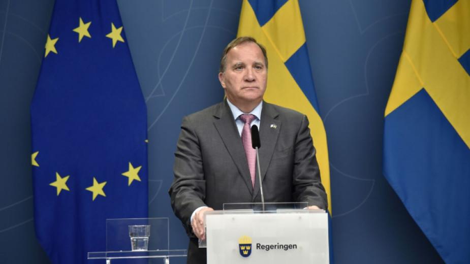 Премиерът на Швеция Стефан Льовен изглежда не успя да осуети