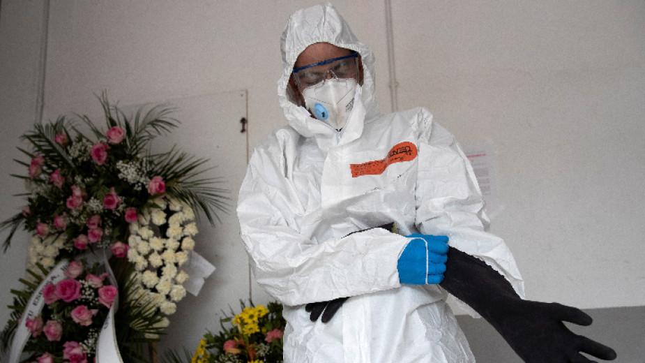 Министерството на здравеопазването на Испания обяви, че за последното денонощие