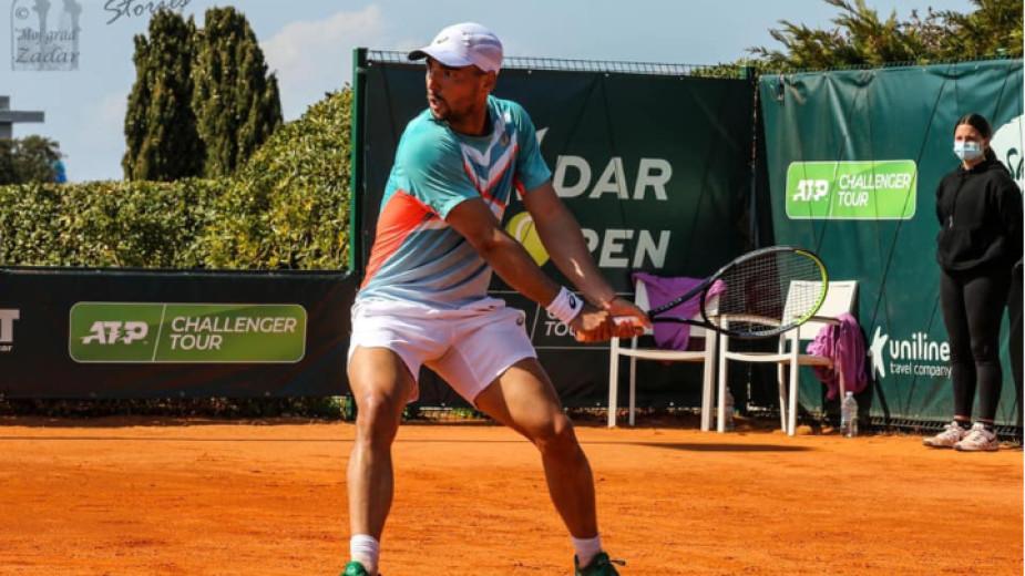 Втората ракета на България в мъжкия тенис Димитър Кузманов все