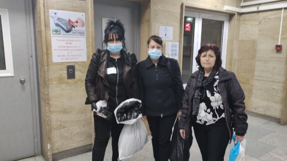 """В Районната избирателна комисия във Велико Търново със """"зелен коридор"""""""