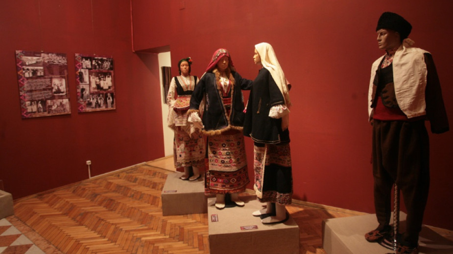 Една от залите на Националния етнографски музей