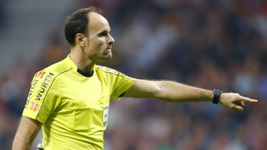 УЕФА потвърди, че топ испанският рефер Антонио МатеуЛаос ще свири