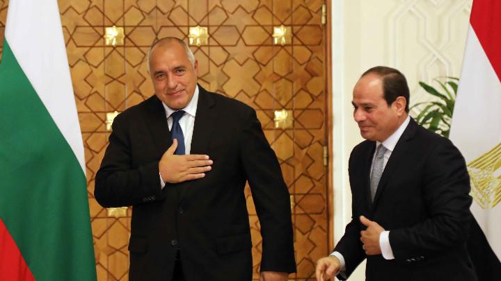 България и Египет ще работят за активизиране на политическия диалог