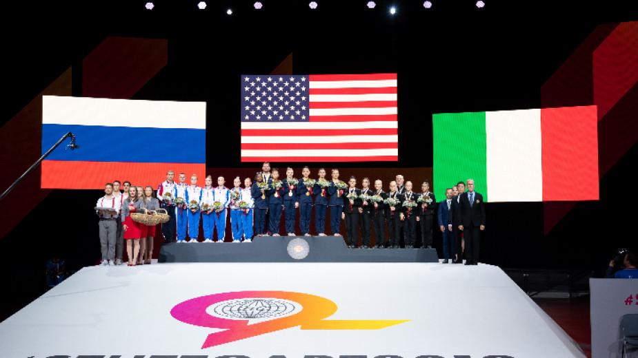 Гимнастичките на САЩ спечелиха отборната титла на световното първенство в Щутгарт