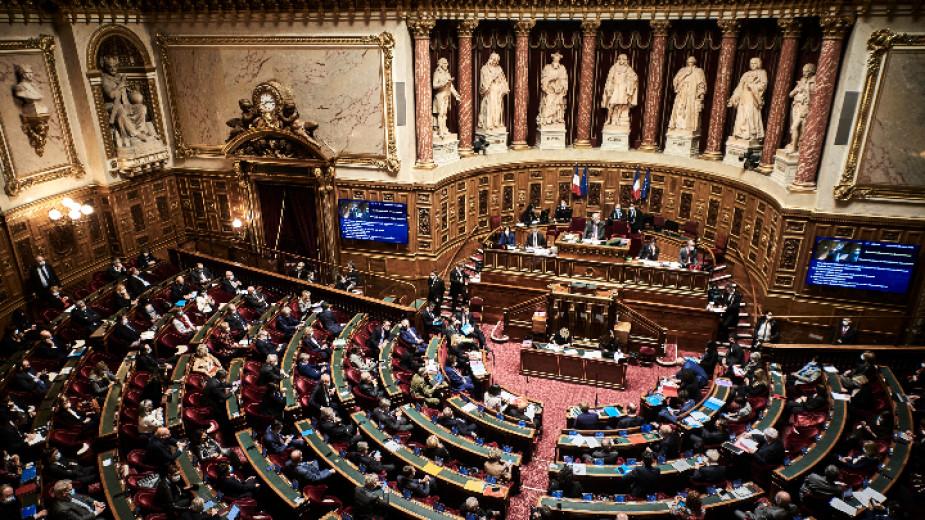 """Френският Сенат прие на първо четене оспорвания проектозакон """"срещу сепаратизма"""","""