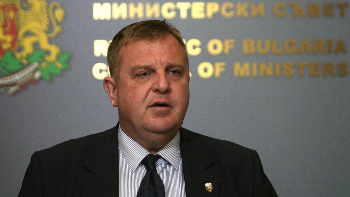 Вицепремиерът Красимир Каракачанов