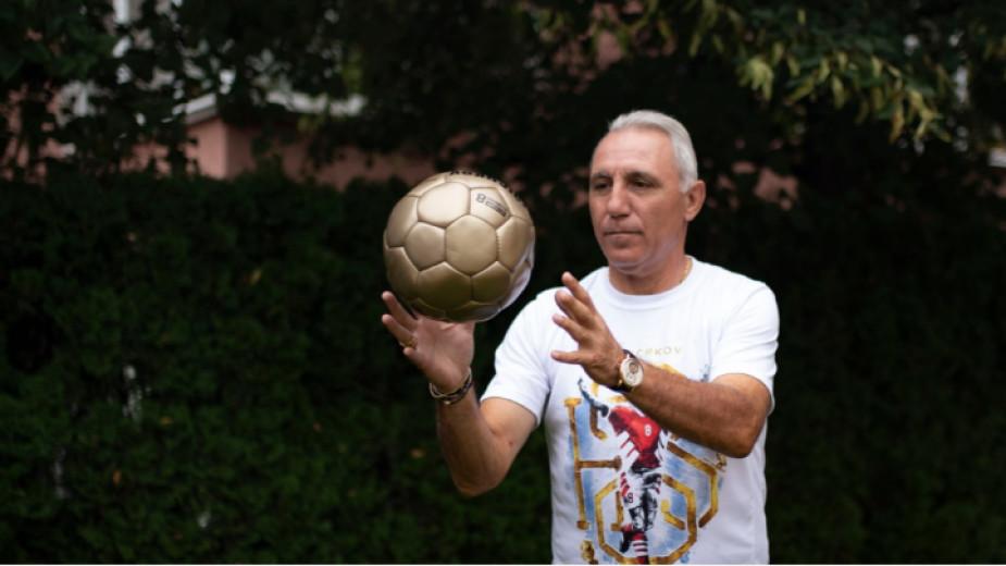 Легендата на българския футбол Христо Стоичков поздрави от сърце волейболистките