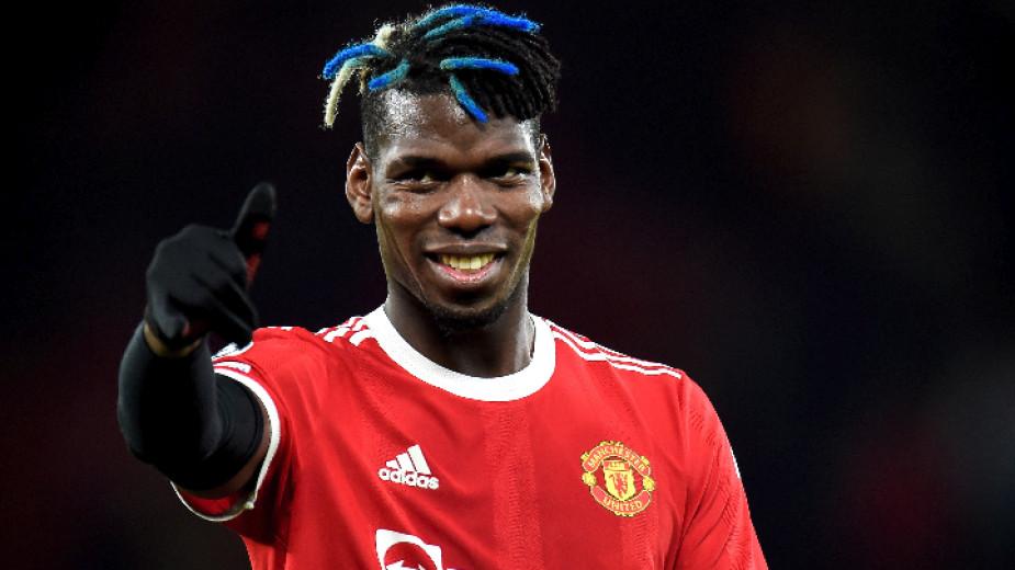 Пол Погба призна, че Манчестър Юнайтед все още е в