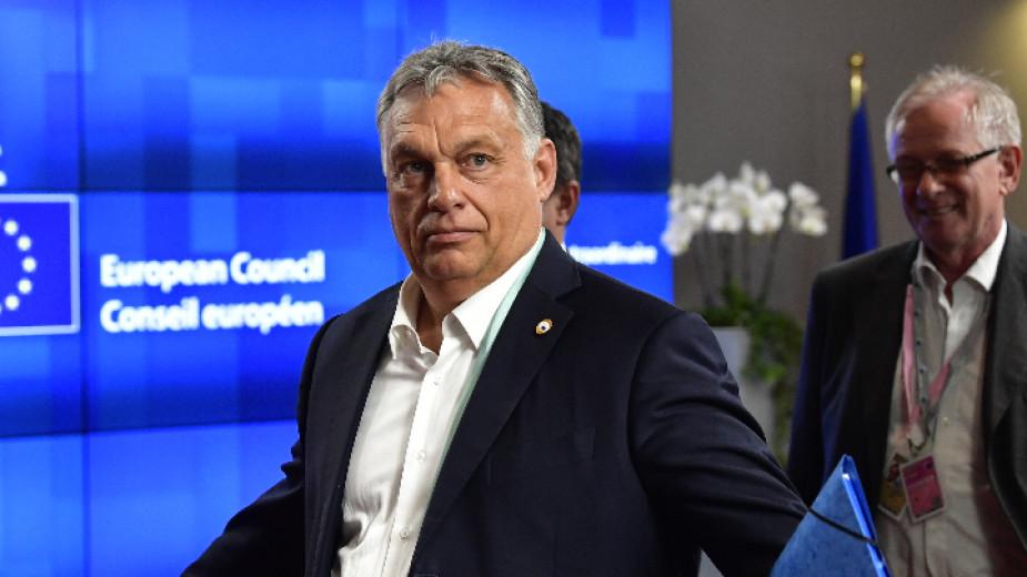 Унгарският премиер Виктор Орбан приема в Будапеща лидера на италианската