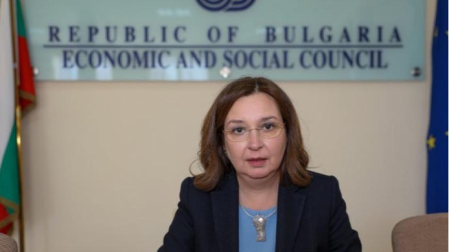 Икономическият и социален съвет (ИСС) смята, че годишният растеж на