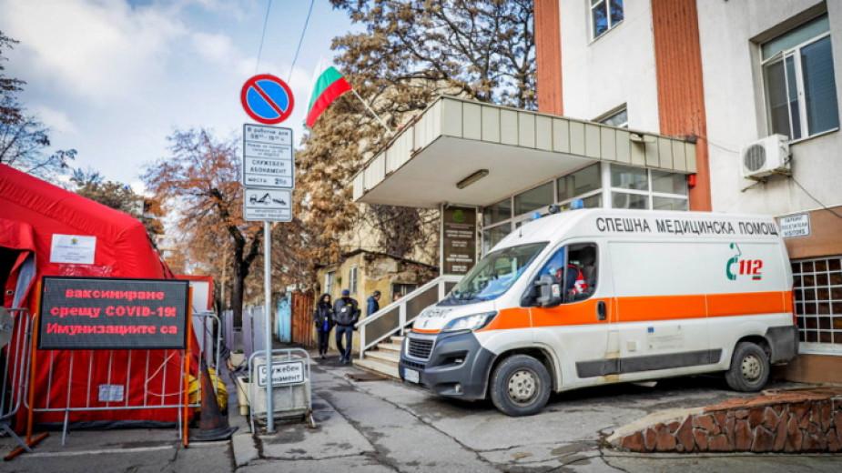 Регистрираната заболеваемост в София на 14 дневна база е 812