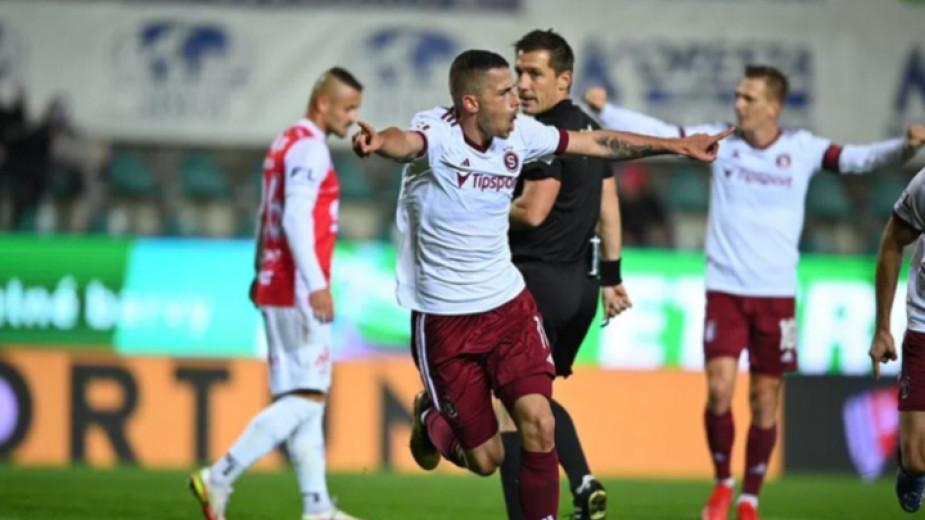 Младежкият национал Мартин Минчев изигра много силен мач при победата