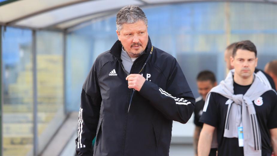 ЦСКА София проведе последно тренировъчно занимание на клубната база в
