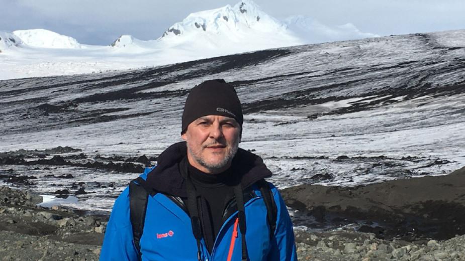 Теодосий Спасов на Антарктида